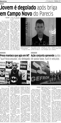 Página - Diário da Serra