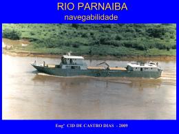 Rio Parnaíba - Navegabilidade