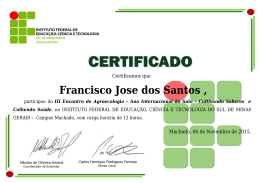 Francisco Jose dos Santos
