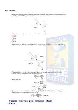 Questão 13 - PRE Federal