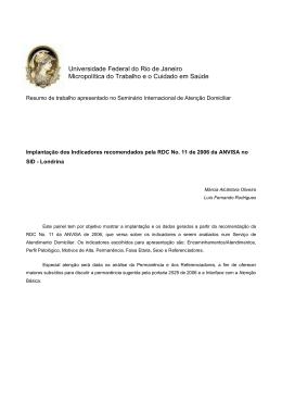 Luis Fernando Rodrigues - rdc-11-06_anvisa