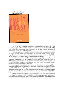 Novembro 2006 - Políticos do Brasil