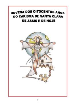 Novena dos 800 anos do Carisma de Santa