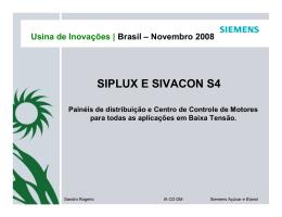 SIPLUX E SIVACON S4