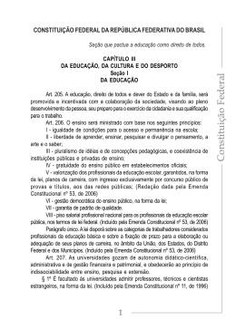 Constituição Federal - Pacto Nacional pelo Fortalecimento do