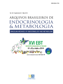 PDF - 1.1 MB - Archives of Endocrinology and Metabolism