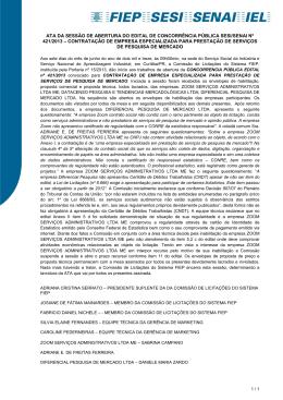 421-13 CP-SERVIÇO DE PESQUISA DE MERCADO