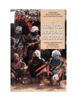 A temática indígena na escola: novos subsídios