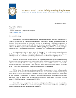 15 de setembro de 2015 Wang Qishan (王岐山)