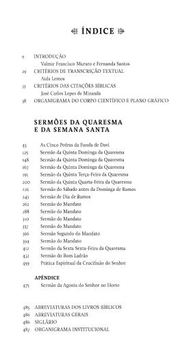 *8 ÍNDICE 8* 9 INTRODUÇÃO Valmir Francisco Muraro e