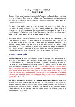 O RIO QUE FLUI DO TRONO DE DEUS - IBM