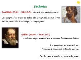 aula - história - Colégio Santa Cruz