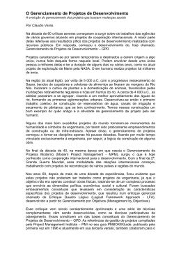 Artigo CV - O Gerenciamento de Projetos de Desenvolvimento 3