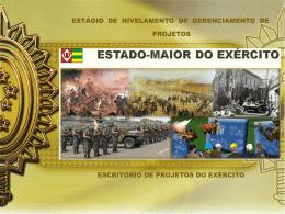 Palestra Fundamentos de Projetos - Escritório de Projetos do Exército