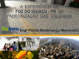 Assessibilidade em áreas públicas de Foz do Iguaçu