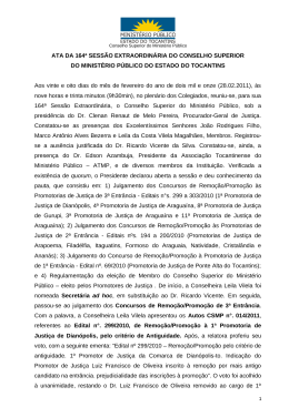 164-2011 - Ministério Público do Estado do Tocantins