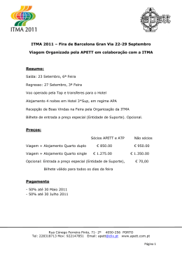 Programa ITMA 2011
