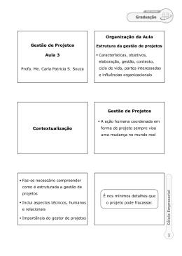 (Microsoft PowerPoint - MT13 - A3 - Gest\343o de Projetos