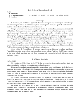 200 anos do surgimento da maçonaria no brasil
