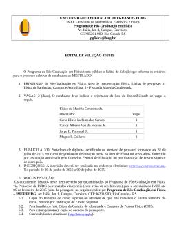 Edital selecao 02/2015 - SIPOSG