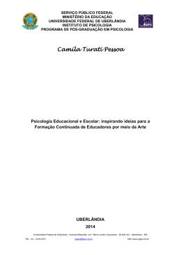 Camila Turati Pessoa - RI UFU - Universidade Federal de Uberlândia