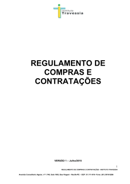 Regulamento de Compras