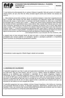 Page 1 1 ! 1) Leia trechos da carta-resposta de um cacique indígena
