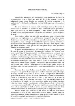 02.2012 - UMA NOVA ESTRATÉGIA