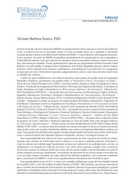 pdf - Revista Brasileira de Engenharia Biomédica