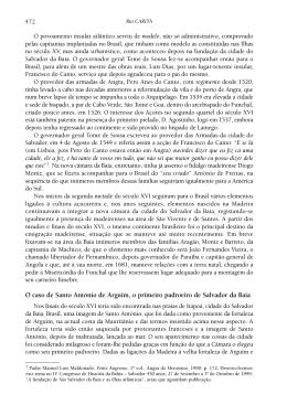 O caso de Santo António de Arguim, o primeiro padroeiro de