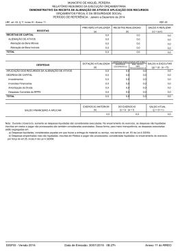 SIGFIS - Versão 2014 Data de Emissão: 30/01