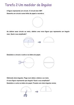 A figura representa um círculo. O círculo tem 360º. Desenha um