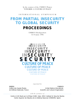 From Partial Insecurity to Global Security