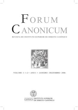 CANONICUM FORUM