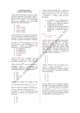 2 ( ) (1,4) M t M = - Matemática no ENEM