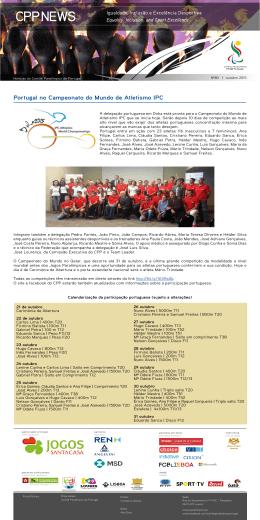 E-news 80 - Comité Paralímpico de Portugal