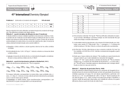 41st International Chemistry Olympiad