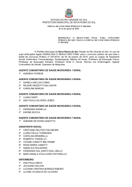 documento - Nova Roma do Sul
