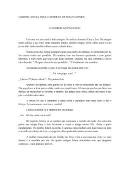 GABRIEL SOUZA DIAS e LHORRAN DE SOUZA GOMES O