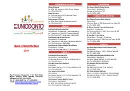 REDE CREDENCIADA 2014