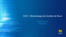 CCEE - Metodologia de Gestão de Risco