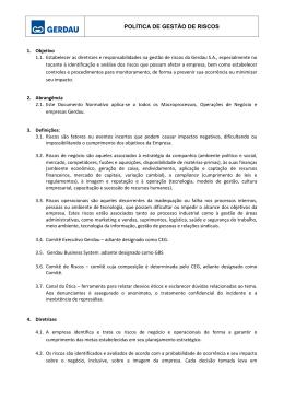2012.10.31 - POLITICA DE GESTAO DE RISCOS - PORT