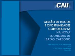 GESTÃO DE RISCOS E OPORTUNIDADES
