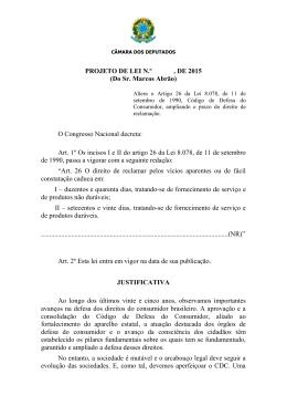PL 1240/2015 - Câmara dos Deputados
