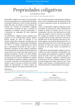 artigo completo em PDF - Revista de Ciência Elementar