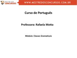Rafaela Motta - Mestre dos Concursos