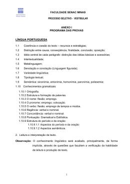 LNGUA PORTUGUESA