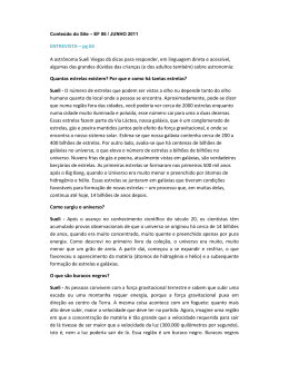 ENTREVISTA – pg 04 A astrônoma Sueli Viegas dá dicas para