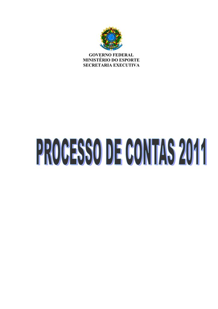 aa7b736101 Tomada de Contas - Ministério do Esporte