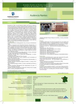 Audencia Nantes School of Management - Nantes